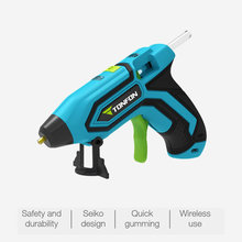 3.6V Lithium-ion Hot Melt Glue Gun with 5pcs Sticks Wireless Graft Repair Heat Pneumatic Home DIY Tools