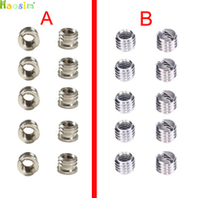 "10pcs 1/4"" to 3/8"" Convert Screw Adapter for Tripod"