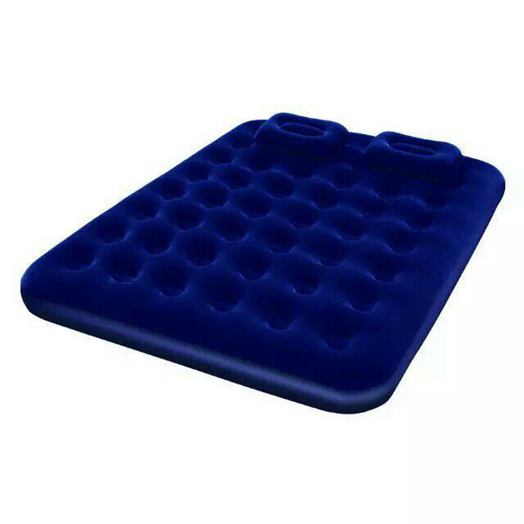 Inflatable mattress inflatable bed single or double persons household gas filled bed outdoor portable air cushion bed send pump
