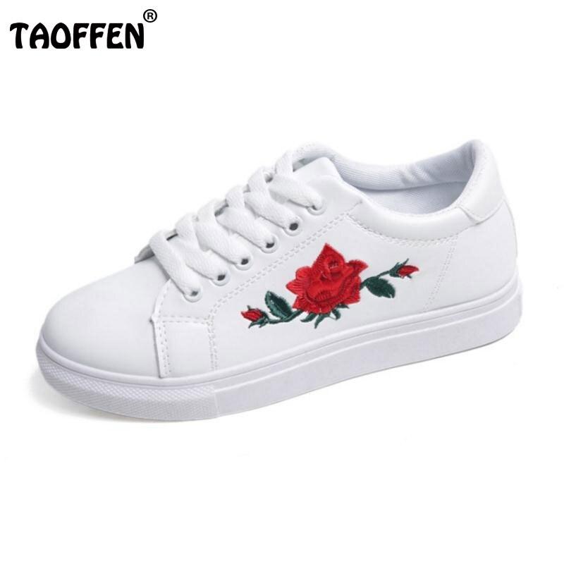 Señoras Vulcanizar Pisos Zapatos de Las Mujeres Rosa Zapato Plano Del Dedo Del P