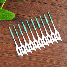 Brosse interdentaire Toothpicks Eco Friendly Gentle Gum Care For Children Adult Silica Gel Ortodoncia Soft Toothpick Crossbow