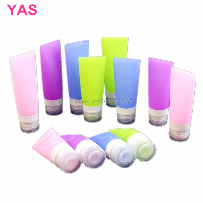 Cute Travel Silicone Packing Bottle Lotion Shampoo Tube Container 38ML/60ML/80ML -Y207 Drop Shipping