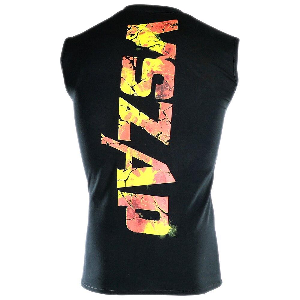 Mens Four Seasons Boxing Fast-drying T-Shirt MMA Taekwondo Judo Muscle Fitness Breathable Vest T-Shirt VSZAP Genuine