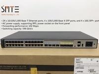 S5720 32X EI AC 24x10/100/1000 Base T, 4x100/1000Base X SFP, 4x10 Gig SFP +, 2 xQSFP +