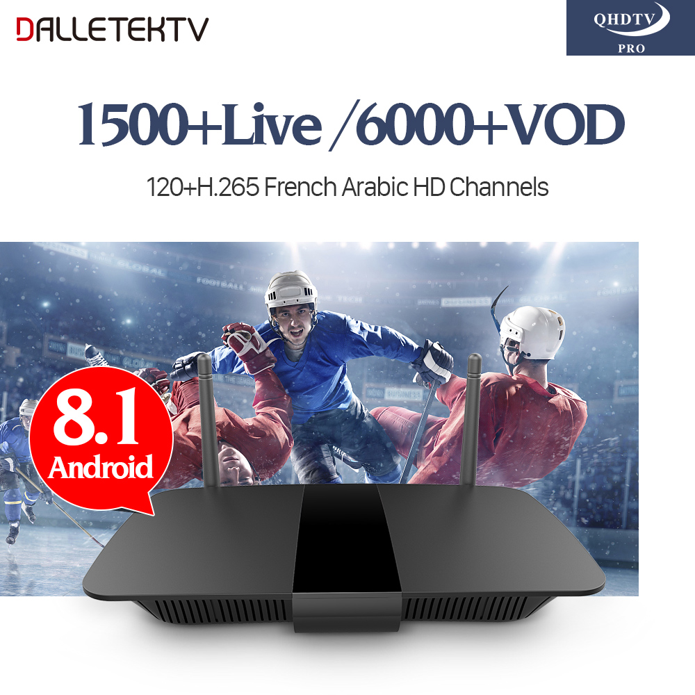 IPTV France Abonnement 1 Year H.265 QHDTV PRO IPTV Subscription Europe Belgium Arabic French IPTV Box Smart Android 8.1 TV Box