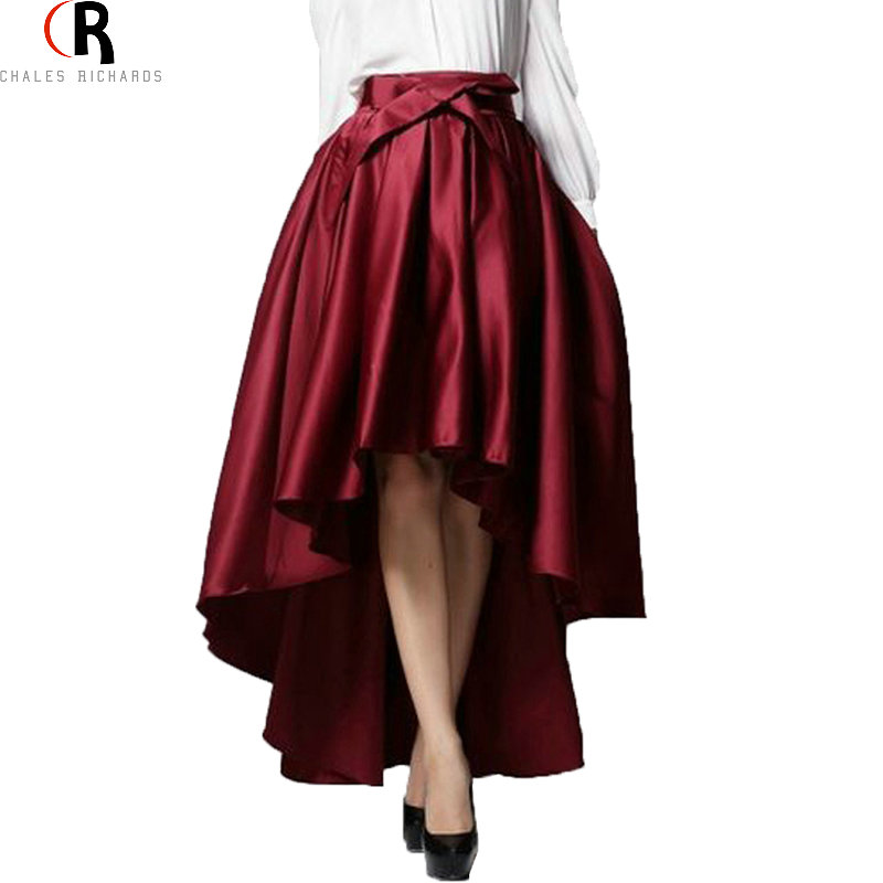 Aliexpress Com Buy Wine Red Bowknot Front High Waist