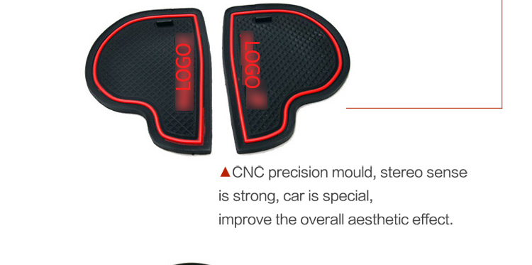 Image 5 - Anti Slip Mat For Mazda 3 BK 2003 2004 2005 2006 2007 2008 2009 MK1 MPS Gate Slot Coaster Anti Dirty Door Groove Mat 5 PCS-in Anti-Slip Mat from Automobiles & Motorcycles