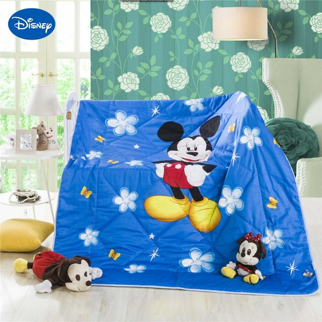 Blue Color Mickey Mouse Summer Quilts Comforter Childrens Boys