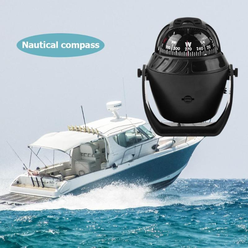 2019 New Style Led Light Electronic Vehicle Car Navigation Sea Marine Boat Ship Compass Elegant In Style Atv,rv,boat & Other Vehicle Marine Hardware