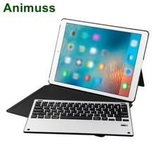 Animuss PU Leather 12.9 Inch Bluetooth Wireless Magnetic Keyboard For iPad Pro