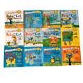 12 книг/набор, я могу читать книги на английском языке с изображением Пита кота, детская история, книга для раннего образования, карманная кни...