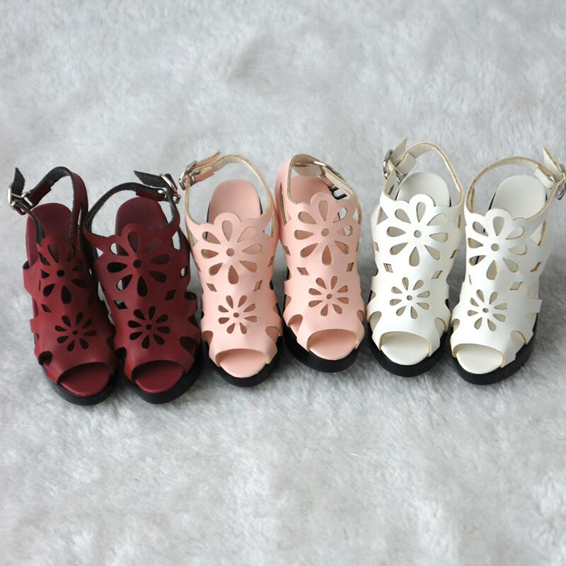 JS-089 Pretty 1/4 BJD Doll Shoes MSD Lady shoes 3 color options js 081 bjd shoes pu shoes sd msd doll shoe factory sales directly