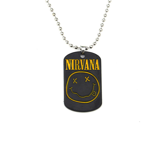 Nirvana guitar pick plectrum braided twist ball chain necklace in nirvana guitar pick plectrum braided twist ball chain necklace aloadofball Choice Image