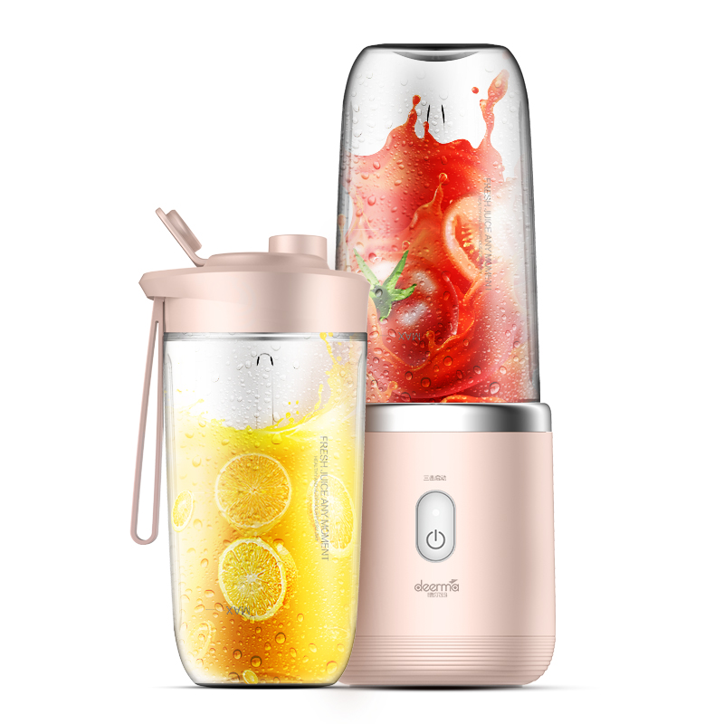 Electric Portable Wireless Mini Juicer Machine 400ml Household Full-automatic Fruit Vegetable Blenders Mixer Student Sports Cup