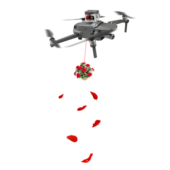 Airdrop Release Fishing Bait Wedding Proposal Device Accessories for DJI 2 Pro Zoom Drone S7JN