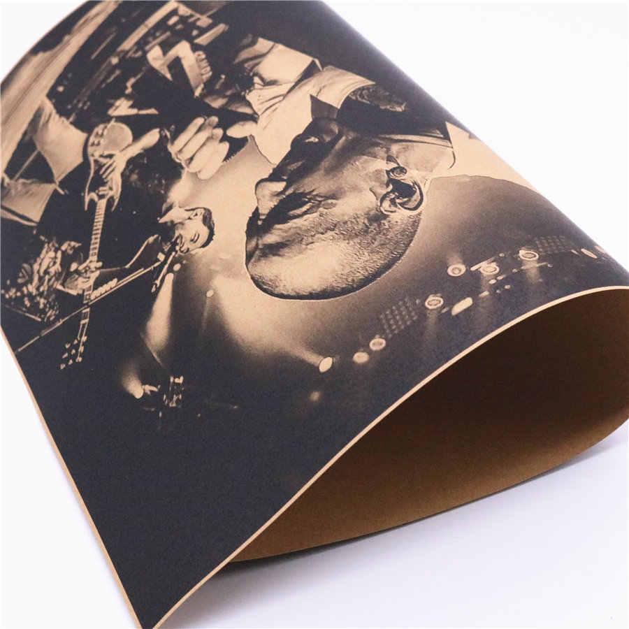 Nostalgico di musica Rock Band Linkin Park poster Retrò restauro vintage krafst carta poster home decor 42x30 cm