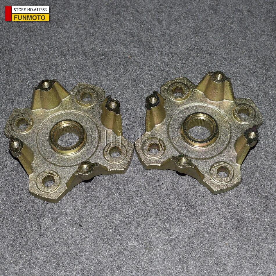 2pcs disc brake fixing bracket of XT1100CC BUGGY/KINROAD 1100CC GOKART OR XT650 BUGGY