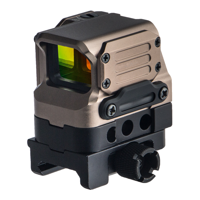 DI Tactical Optical FC1 Red Dot Sight Reflex Sights Holographic Rifle scope for 20mm Rail Air Gun 4 colors availalbe optical lens 556 black side holographic red