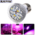 Full spectrum 28 SMD 5730 Red Blue White UV IR LED Grow Lamp Grow light cup for Flower plant Hydroponics E14/E27/GU10 Lights