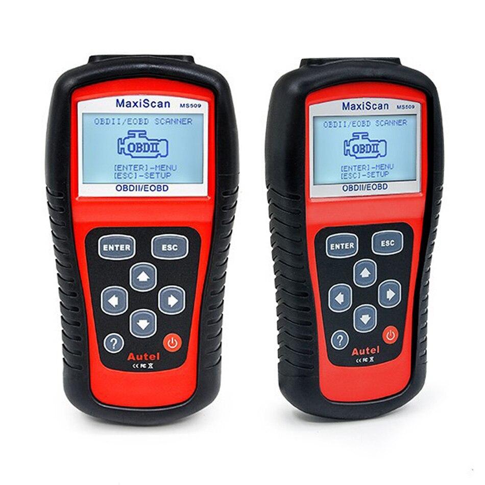 2019A-utel MaxiScan MS509 OBDII OBD2Automotive Code Reader Сканер автомобильный диагностический инструмент профессиональный MaxiScan MS509 сканер