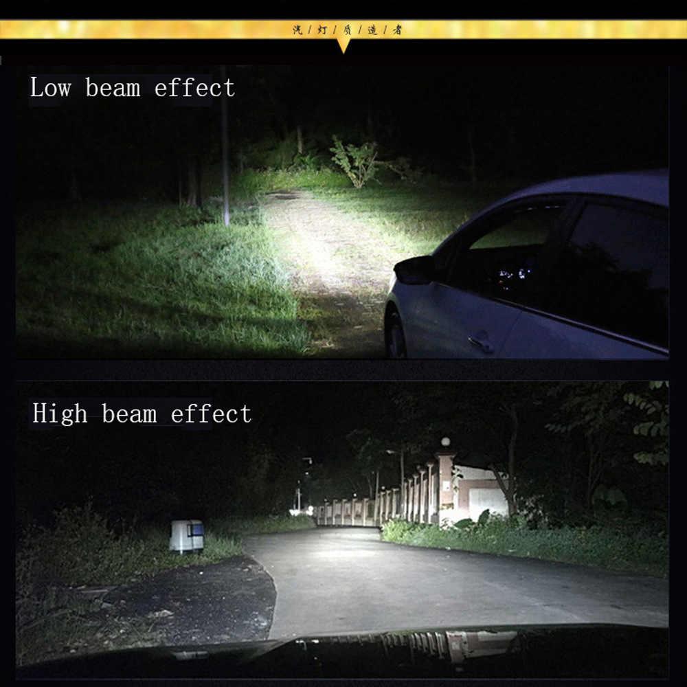 2Pcs/Lot Super Bright H7 H4 LED H11 Car Light Canbus ZES Headlight Bulb 10000LM H1 9005 9006 H8 H9 6000K 12V Auto LED Headlamp