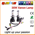 2 шт. ксеноновые лампы 35 Вт H4 высокий низкий Би ксенон лампа H4 H4 H13 9008 9007 9004 привет ло HID Фар ксеноновые замена лампы