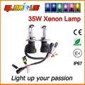 2 unids lámpara de xenón 35 W H4 alta baja H4 bombilla de xenón del Bi H13 9008 9007 9004 hi lo HID Faros de xenón H4 bombilla de repuesto