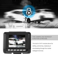 3 Inch TFT Screen Full HD 1080P Hidden Car DVR Camera With Wireless WIFI Function Wide
