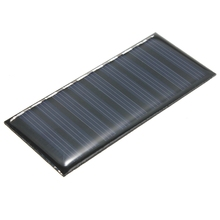 New 5V 0.5W 100mAh Polycrystalline Silicon Solar Panel Powered Models Mini Solar Cells Battery Phone Charger DIY