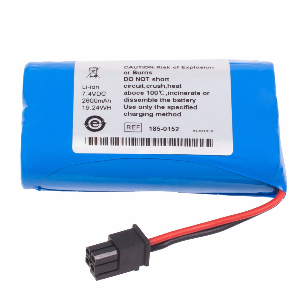 2600mAh New Vital Signs Monitor battery for Aspect Vista View BIS 186-0208 replacement for vital signs monitor medical twslb 008 hylb 1049 m3 ecg machines battery