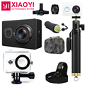 """[Edição internacional] original xiaomi yi esportes câmera 16.0mp 155 """"1080 p wi-fi câmera de ação de redução de ruído 3d"""