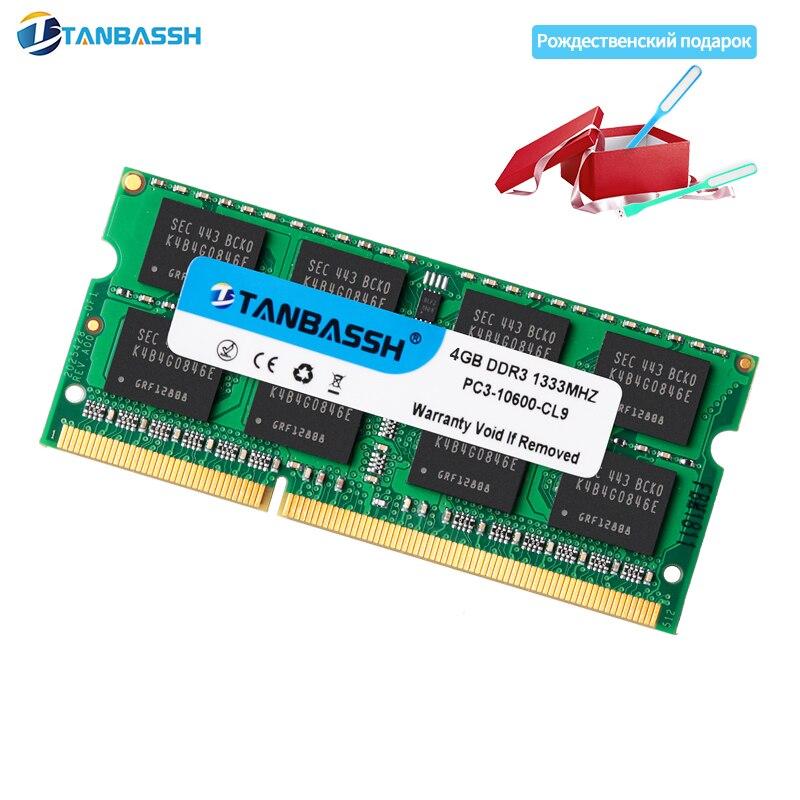 TANBASSH DDR3 2GB/4GB/8GB 1333Mhz SO-DIMM Notebook RAM 204Pin Laptop Memory