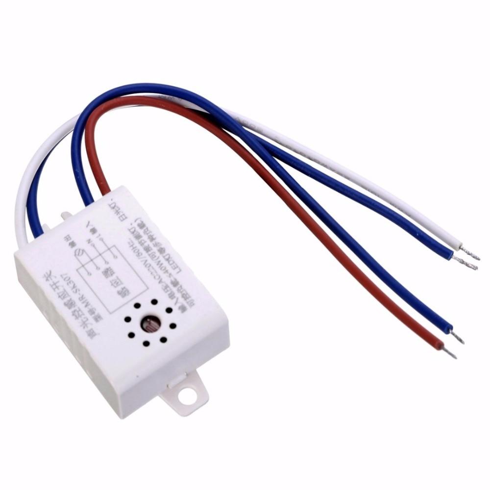 MR SK307 220V Intelligent Auto Street Light Switch Outdoor Night ...