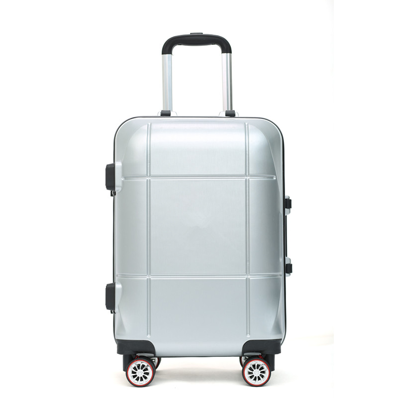 Retro ABS+PC suitcase Bag caster Aluminum frame trolley luggage bags Business chassis men women 20 24-inch Travel password box стоимость