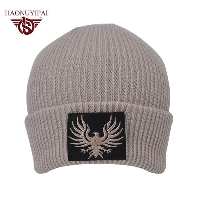 2016 Fashion Winter Custom Service Wholesale Cycling Caps Customizable Hip  Hop Sport Beanies Embroidery Knit Casual Hats CX008 e6d4557ea1e