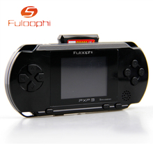 Fuloophi 4 Colors PXP3 Slim Station Pocket Game Kids Student 16-Bit Video Games Player Handheld Game Console+Free Game Card