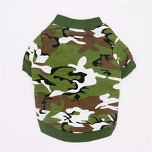 Spring and Autumn pet dog clothes for small dogs puppy ring cotton camouflage pullover dog hoodies Teddy dog clothing winter(China)
