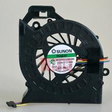 (10 pcs/lot) Dorigine pour Ordinateur Portable ventilateur refroidisseur de processeur Pour HP Pavilion DV6 DV6 6000 DV6 6050 DV6 6090 DV6 6100 DV7 6000 DV7 6000