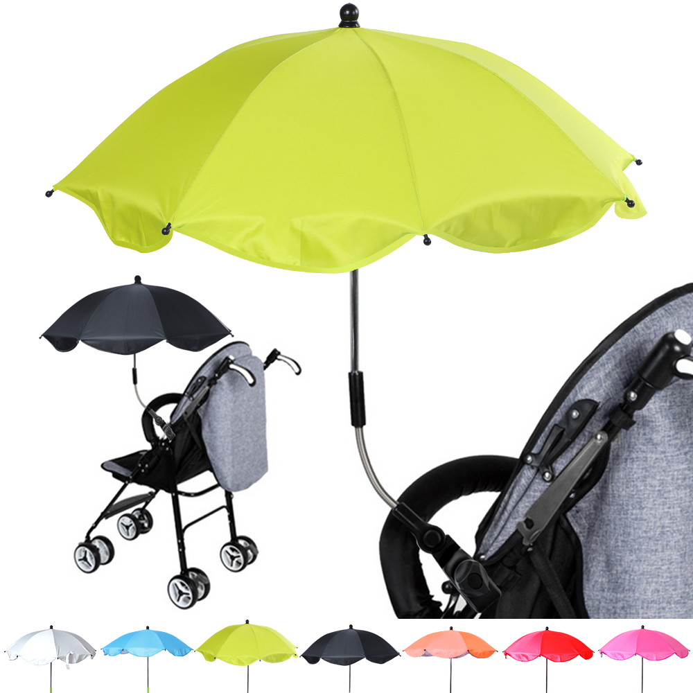 Baby Pram Umbrella Us 7 27 38 Off 1pcs Detachable Stroller Umbrella Adjustable Baby Pram Pushchair Cover Uv Rays Sun Shade Parasol Rain Protecter Outdoor Tool In