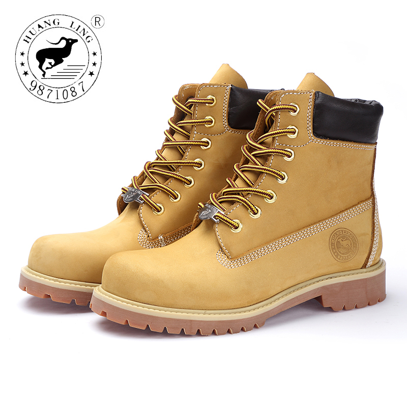 HUANGLING 2017 Winter Fashion Men Martin Boots Outdoor Casual Handcraft shoes Men boots HL071210061