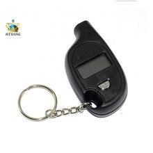 Мини брелок портативный цифровой ЖК-дисплей 2-150 фунтов/кв. дюйм датчик давления воздуха в шинах Колеса Тестер инструмент для измерения давления в шинах