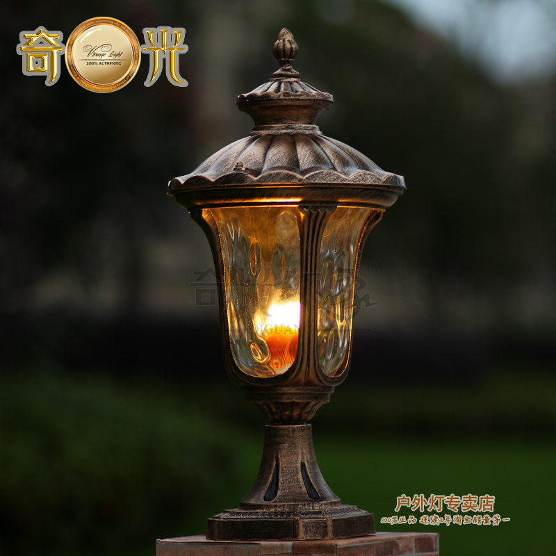 Vintage outdoor lamp posts lighting antique cast iron light post aluminum glass post lamp outdoor fixture light e27 european vintage mozeypictures Images