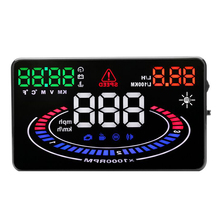 E300 5.5″ OBD2 Car HUD GPS Car Head Up Display Temperature overspeed Alarm Overspeed Warning Windshield Projector Alarm System