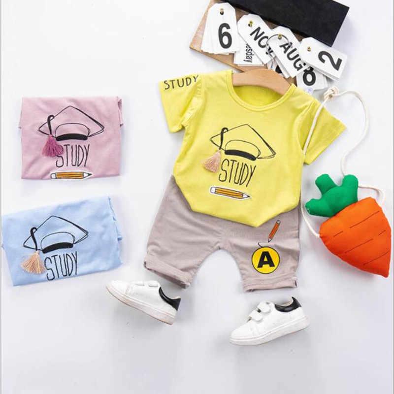 Осенние костюмы для мальчиков 0, 1, 2, 3, 4 лет, новая детская одежда на весну и осень, рубашка для маленьких мальчиков, два комплекта