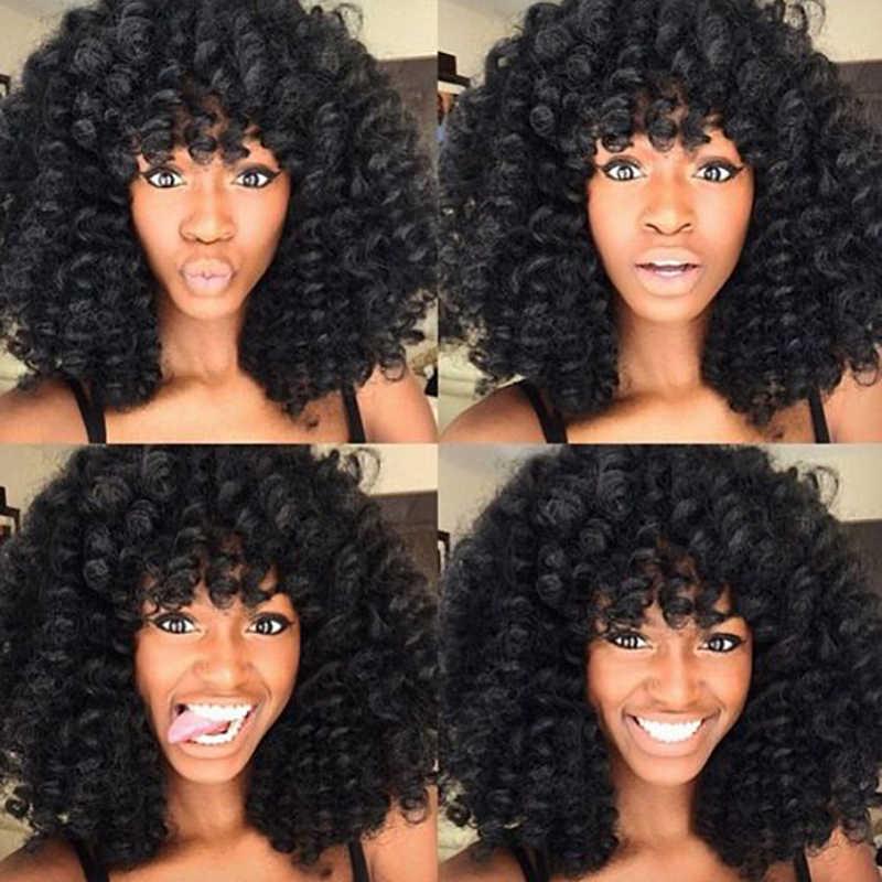 Ямайский отскок крючком волосы Омбре синтетические косички для наращивания плетение вьющийся кроше твист волосы для наращивания 8 дюймов светлые волосы