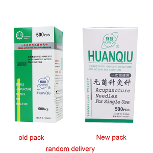 Image 4 - 500 PCs / box new  global disposable acupuncture needles / sterile acupuncture needles / stainless steel acupuncture needles