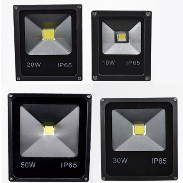 (10pcs/lot) 10W 20W 30W 50W 70W 100W 120W 150W 200W 85-265V LED Floodlight Outdoor IP65 LED Flood light lamp wash flood spot