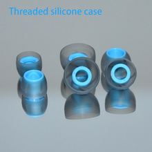 QKZ In-Ear Earphone Threaded Soft Silicone Case Replacement Eartip Earbud Cushions Ear pads Covers For Headphone 3 Pairs(S/M/L) цена и фото