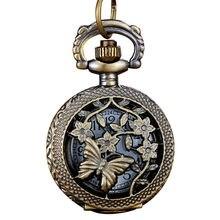 e797a528833 Cadeia OTOKY Homens Relógio de Bolso de Quartzo Bronze Relógio Do Vintage  Retro Antigo Relógio de