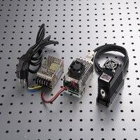1064nm profissional 1000 mW 1 W Infravermelho Solid-state Laser Módulo TEC Refrigeração com fonte de alimentação de divisão